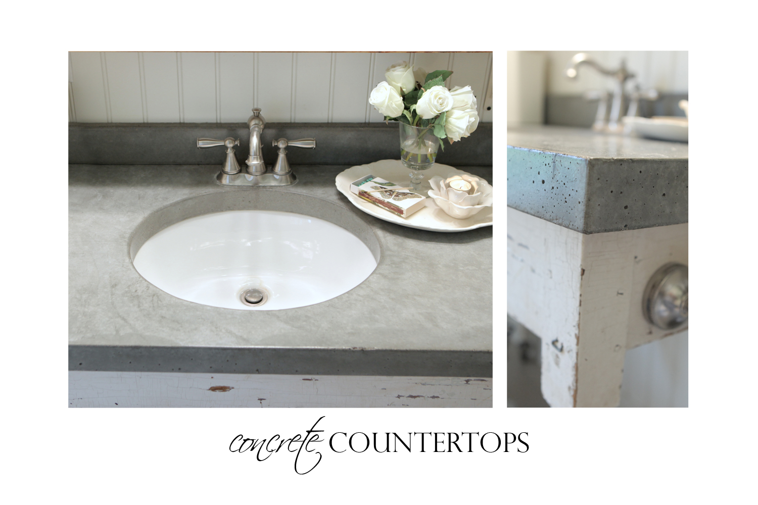 Concrete Counter Top » JosieJones & Company