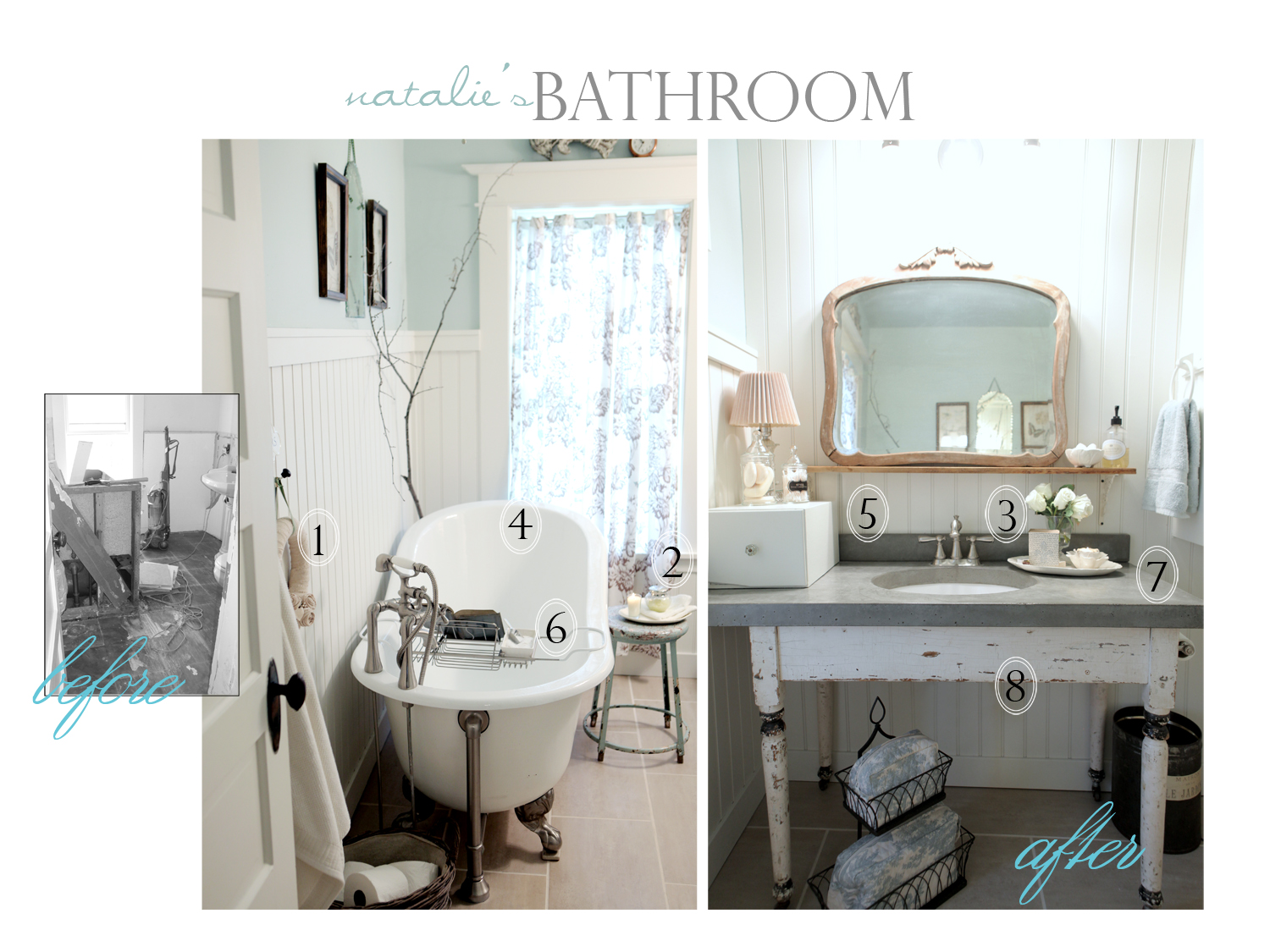 natalie's bath before & after 1500