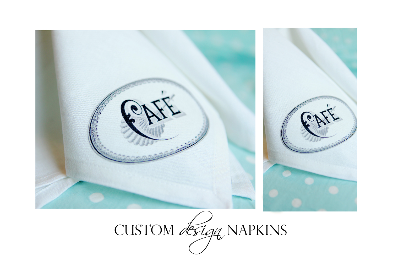 custom design napkins