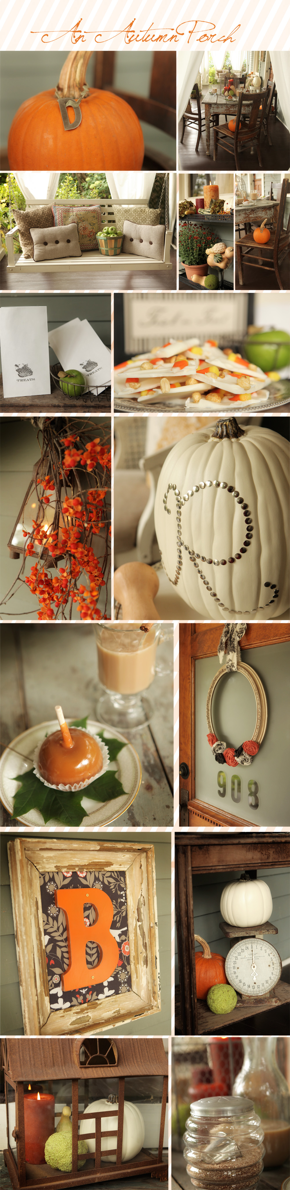 An Autumn Porch Montage