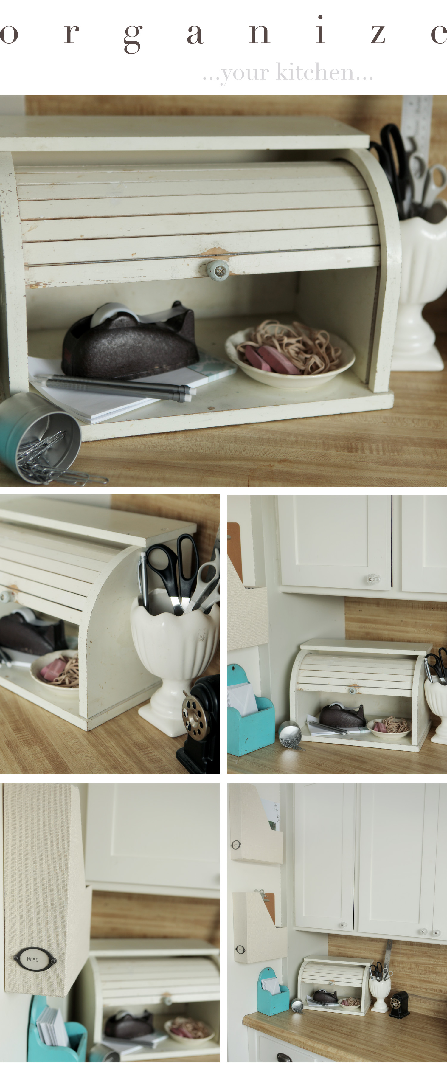 Kitchen Counter Organize