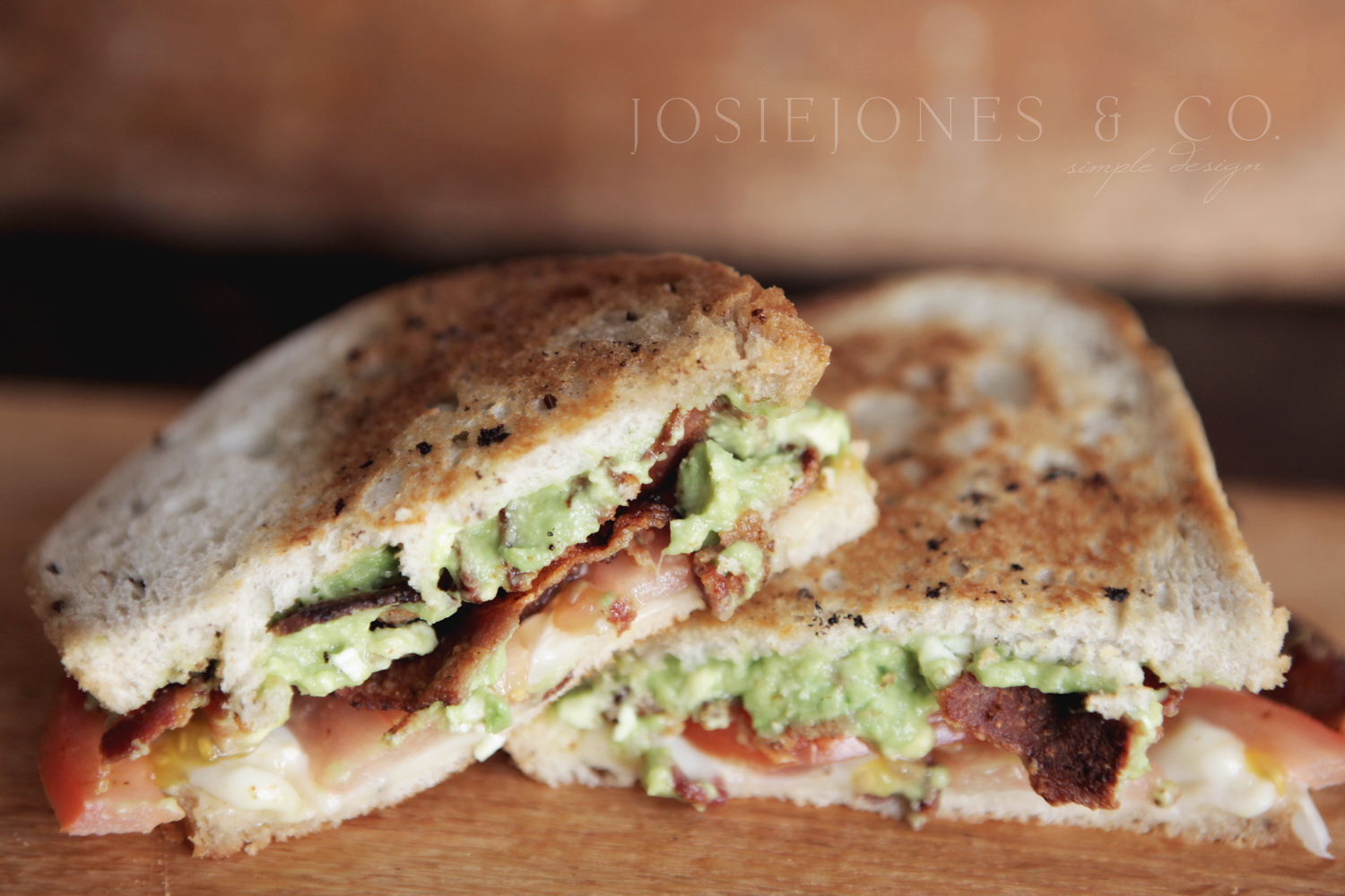 Start off with a sandwich…A Chipotle Gucamole Sandwich