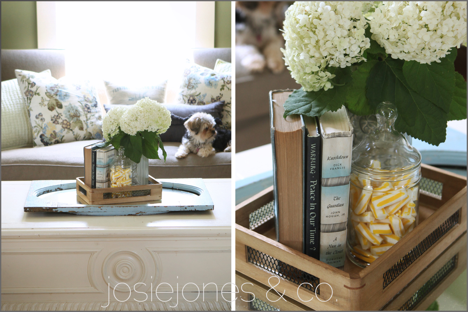Coffee Table Arrangements