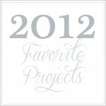 2012 favorite projects graphic